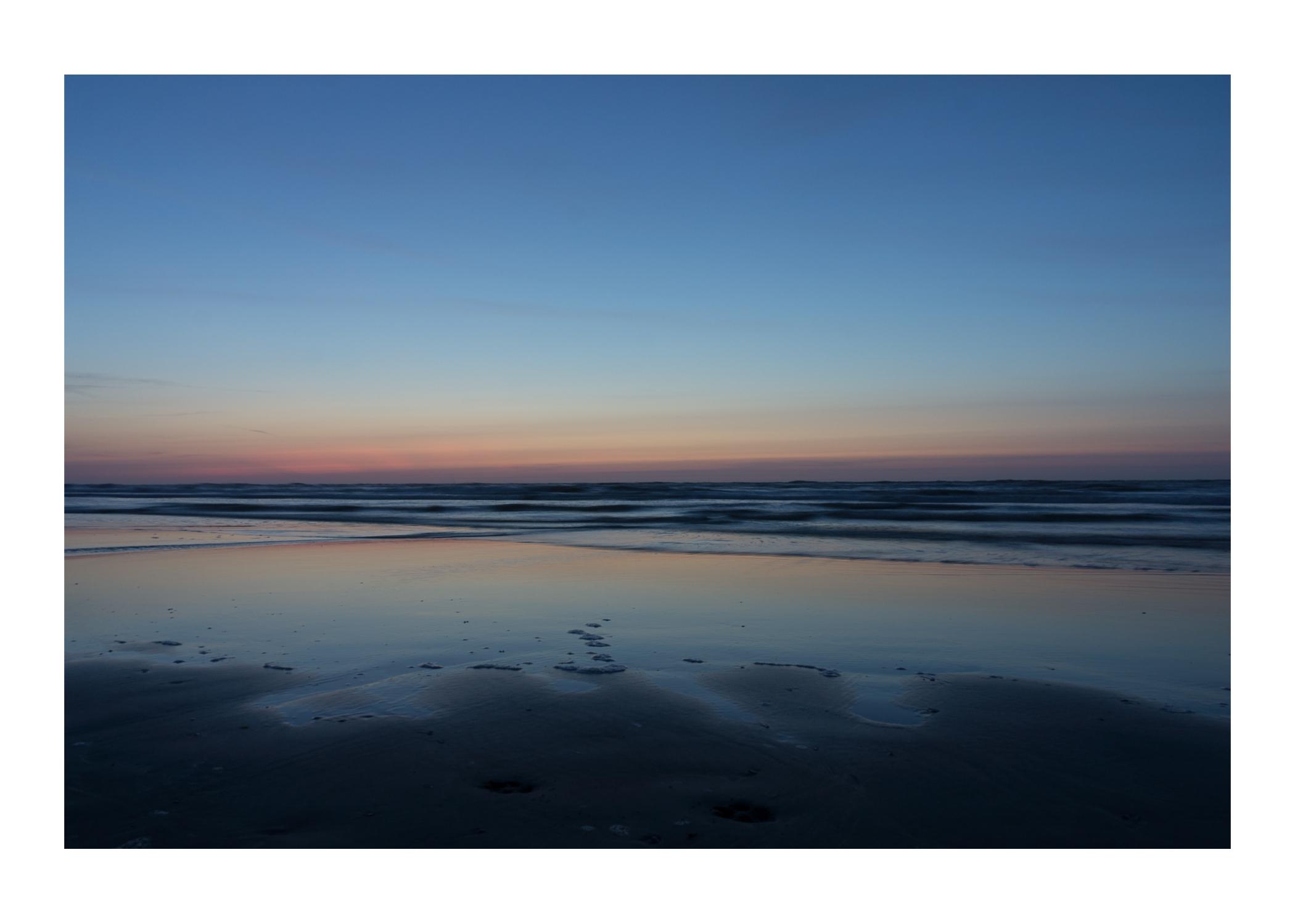 2013 Ameland strand avondlicht